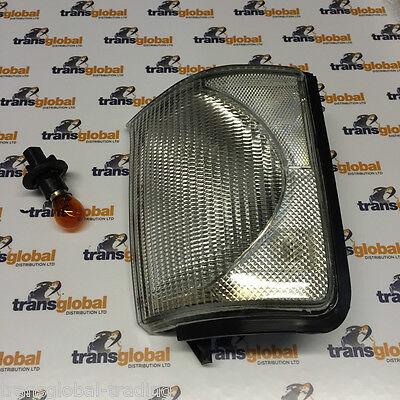 Land Rover Discovery 2 98-02 CLEAR Front RH Indicator Light Lamp Lens - Bearmach