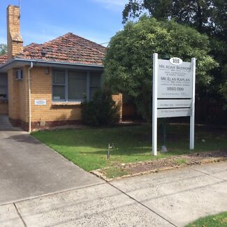 Ex -Bayside Medical Premises For Rent Ideal  3/4 bedroom home Beaumaris Bayside Area Preview