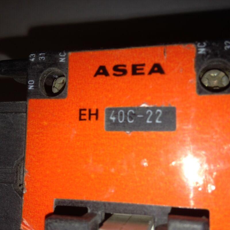 EH40C-22 ASEA Contactor 120V Coil