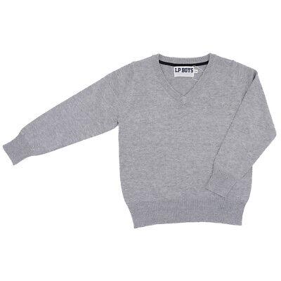 V-ausschnitt Jungen Pullover (Little Pieces Jungen Pullover mit V-Ausschnitt Größe 104 110-116 122-128 13...)