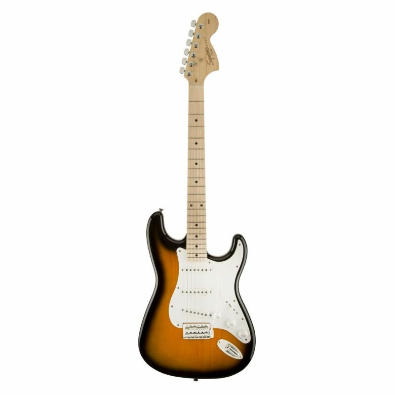 SQUIER AFFINITY SERIES STRATOCASTER, Mn, 2-Color Sunburst - E-Guitar
