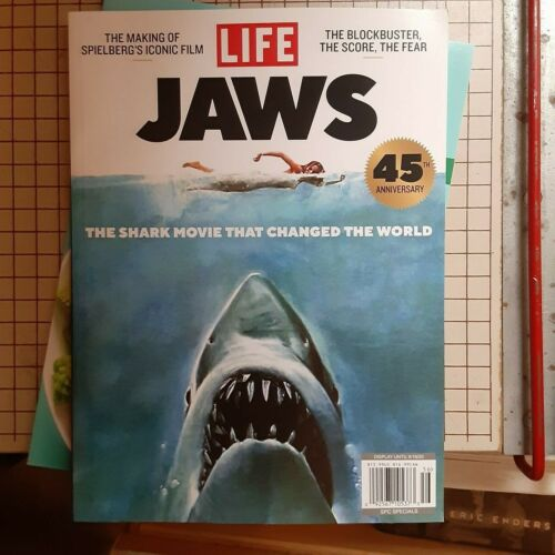 Life Magazine 2020 THE MAKING OF JAWS  45 YEARS