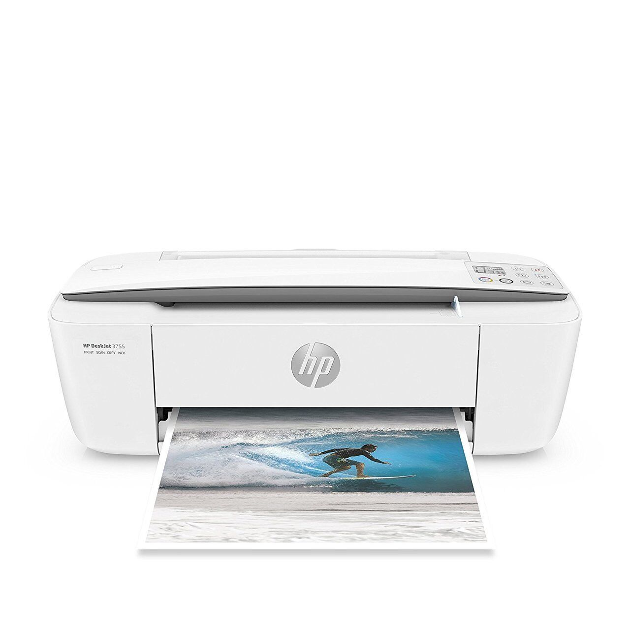 Hp deskjet inkjet computer printers ebay hp deskjet 3755 wireless all in one instant ink printer j9v91a fandeluxe Gallery