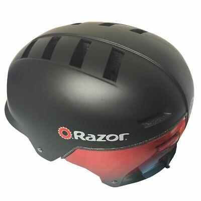 Razor V17 Helmet Matte Black Safety Bike Bicycle Cycling Adult Youth Large