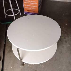 White coffee table Mosman Mosman Area Preview