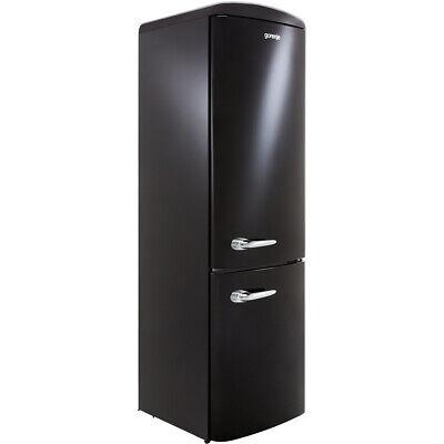 Gorenje ORK193BK Retro Collection A+++ 60cm Free Standing Fridge Freezer 70/30