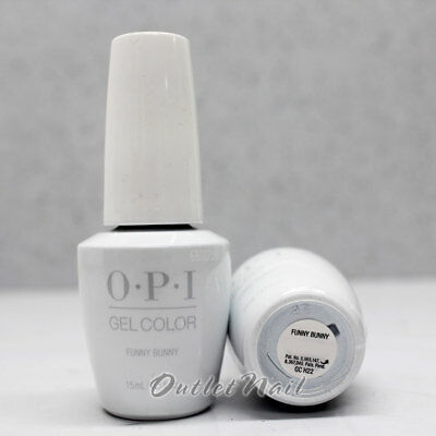 OPI GelColor FUNNY BUNNY GC H22 15mL UV LED Gel Polish White Tip French Manicure - Bunny French