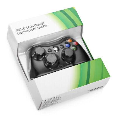 Wireless Game Controller Gamepad for Microsoft XBOX 360 & PC WIN 7 8 10 Black