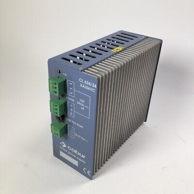 Cabur CL 624/24 XAL06VC Linaer power supply 24Vdc 6A Used UMP