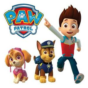 10 X Paw Patrol Wall Stickers - Totally Movable and Reusable Sydney City Inner Sydney Preview