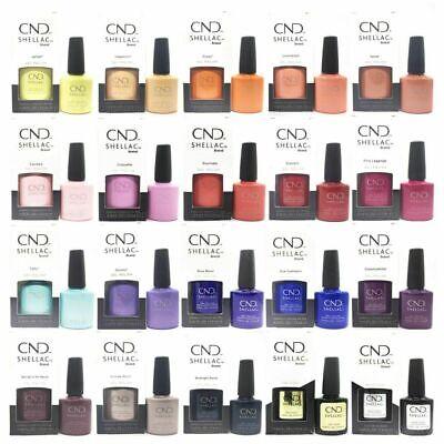 CND SHELLAC UV Nail Polish CLEARANCE Assorted Colours 7.3 mL