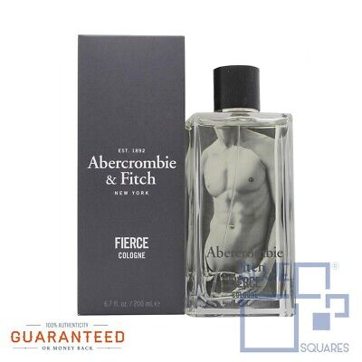 Fierce By Abercrombie & Fitch 6.7 oz / 200 mL Men's Eau de Cologne New & Sealed