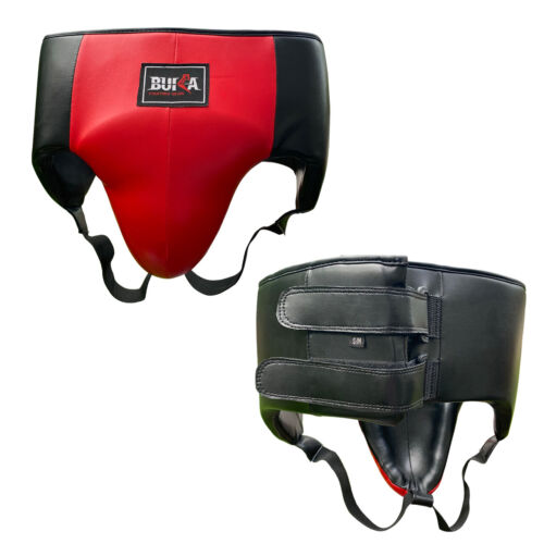 BUKA Groin Guard Boxing MMA Abdo Protector Kickboxing Abdominal Muay Thai Gear