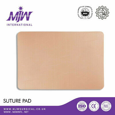Suture Practice Pad Plain Silicon Skin Training Pads For Students Examinations