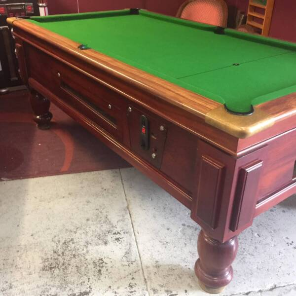 Electronic Coin Op Slate Ex Pub Pool Table Ft Other Sports - Electronic pool table