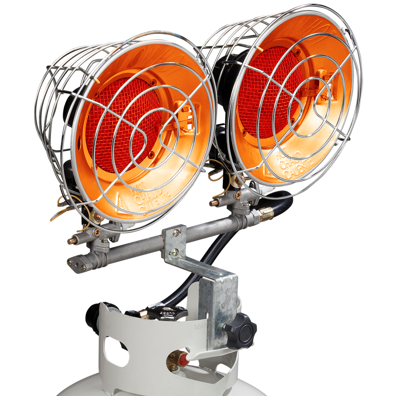 Tank Top Propane Heater – 30,000 BTU, Model#: PCTT30