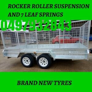 12×6 Tandem axle trailers with best price