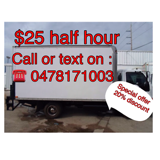 TWO MEN WITH TRUCK ONLY $35