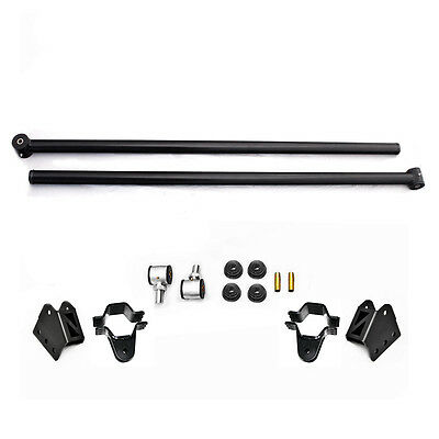 Dodge Ram Traction Bars - Adjustable Ladder/Traction Bars (Rear) 02-08 Dodge Ram 1500 Quad Cab - Tubular