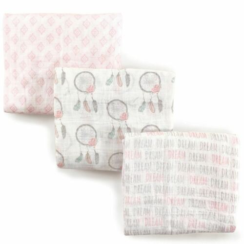Hudson Baby Muslin Swaddle Blankets, Dream Catcher