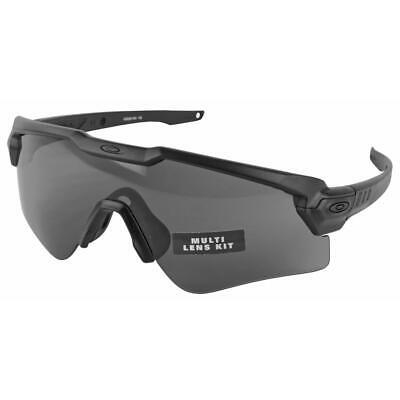 cc1fdfa398 Oakley SI Ballistic M Frame Alpha - Black w Prizm Grey   Clear Lenses  9296-1844
