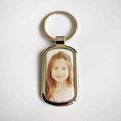 Schlüsselanhänger Fotogeschenk mit persönlichem Foto in 3D Effekt und