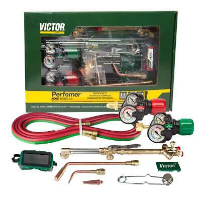 Victor 0384-2125 Performer 540510 Edge 2.0 Acetylene Cutting Torch Outfit