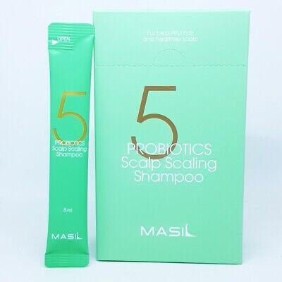 MASIL 5 Probiotics Scalp Scaling Shampoo 8ml x 20ea Water-Oil Balance K-Beauty