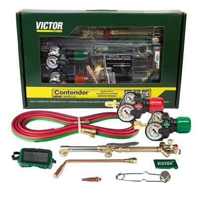 Victor 0384-2130 Contender 540510 Edge 2.0 Acetylene Cutting Torch Outfit