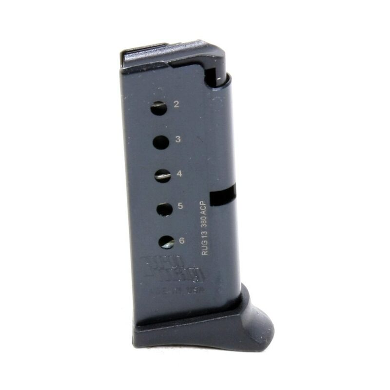 ProMag Ruger LCP 380 ACP 6 Round Magazine Blued RUG 13