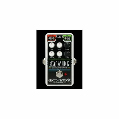 Electro-Harmonix NANO BATTALION - Bass Effects Pedal