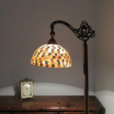 Chloe Lighting Tiffany Style 1 Light Floor Reading Lamp (Tiffany Square Floor Lamp)