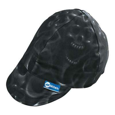 Miller 230543 Headthreads Welding Cap Ghost Skulls Size 7-14