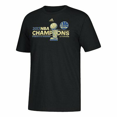 Golden State Warriors Mens Adidas 2017 Nba Championship Locker Room T Shirt