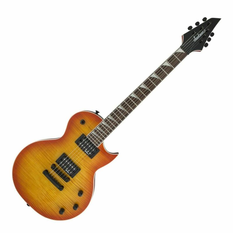 Jackson Scx Monarkh IN Cherry Burst - E-Guitar