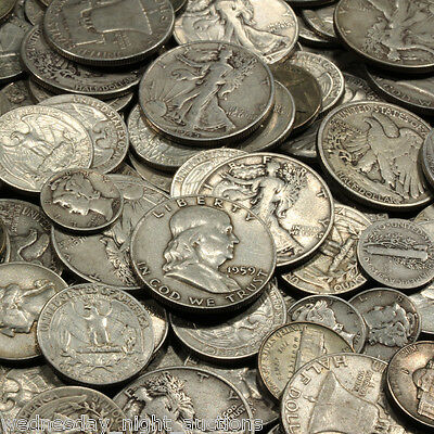 ✯SILVER✯ ONE Troy Pound U.S. Mixed Silver Coins Lot Pre-1965 .999 Bars Bonus!