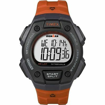 Timex TW5K86200, Men's Ironman 50-Lap Resin Watch, Alarm, Indiglo, TW5K862009J