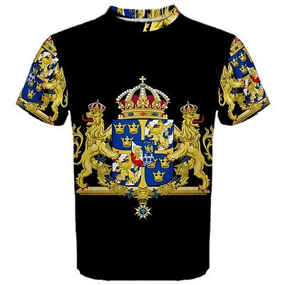 Sweden Swedish Coat of arms Sublimated Men