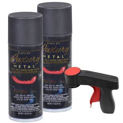 Plasti Dip Luxury Metal Spray Black Sapphire Metallic 2 Cans Cangun1 Trigger
