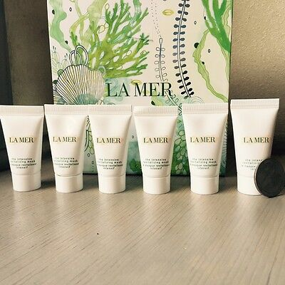 6 X NEW La Mer The Intensive Revitalizing Mask .17 fl. oz./5 ml. each
