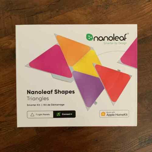 Nanoleaf Shapes - Triangles Smarter Kit (7 panels) - Multicolor BRAND NEW SEALED
