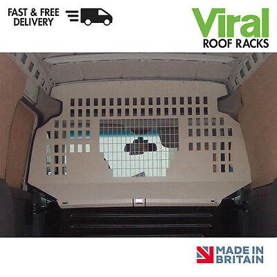 Vauxhall Combo 2001-2012 Van Guard Steel Top Half Bulkhead Punched VG185P