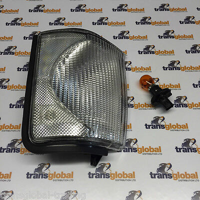 Land Rover Discovery 2 98-02 CLEAR Front LH Indicator Light Lamp Lens - Bearmach