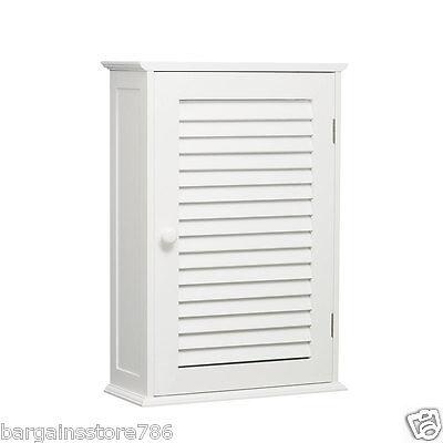 Two Single Door (Single Door Shutter Two Shelf White Bathroom Wall Mounted Storage Cabinet Style )
