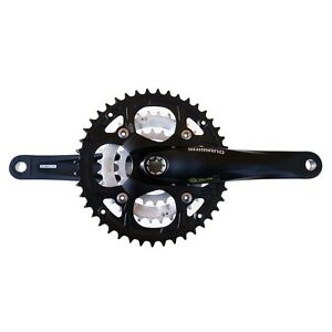 Shimano Deore FC-M442 Octalink Mountain Bike Crankset 44X32X22 9-Speed 170mm