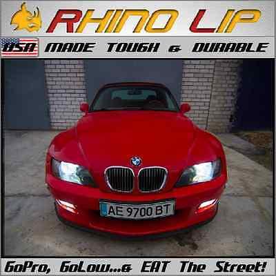 BMW 5-Series E28 E34 E39 E60 E61 F10 F11 Saloon Rubber Spoiler Splitter Chin Lip