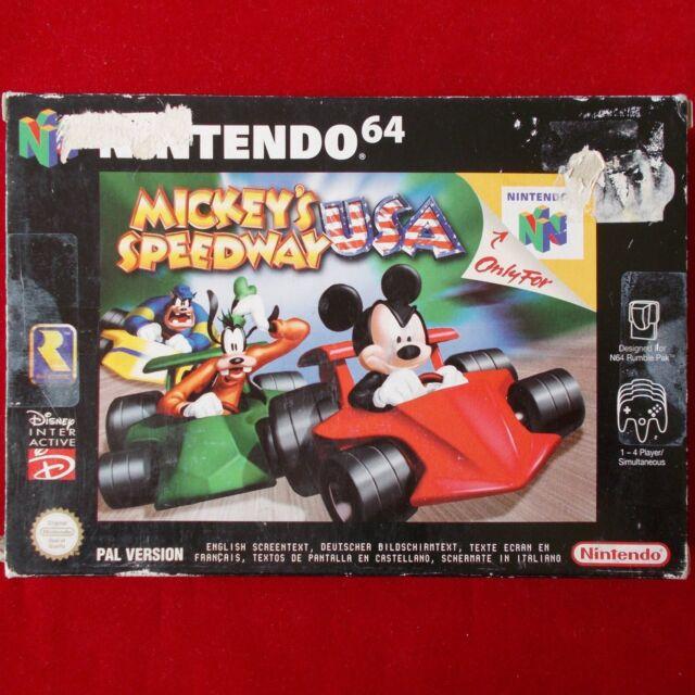 Nintendo 64 | N64 ► Mickey's Speedway USA ◄ komplett | OVP | TOP | PAL