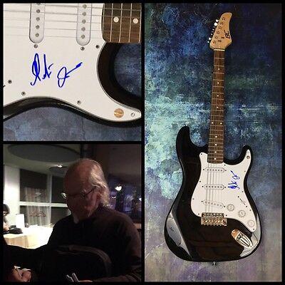 GFA Jethro Tull Guitarist * MARTIN BARRE * Signed Electric Guitar PROOF AD1 COA