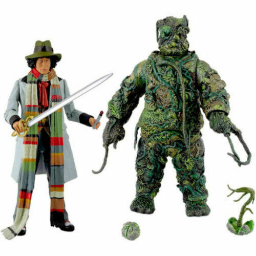 Doctor Who: SEEDS of DOOM Action Figure Set (4th Doctor Tom Baker) New in Box