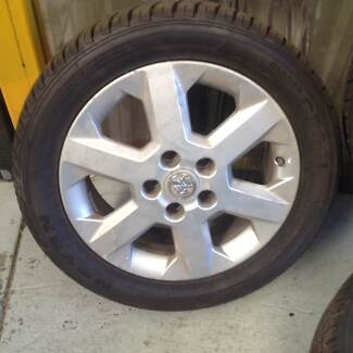 Holden Astra wheels and tyres. Braeside Kingston Area Preview